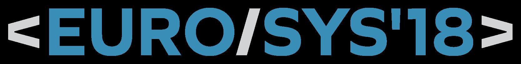 EuroSys'18